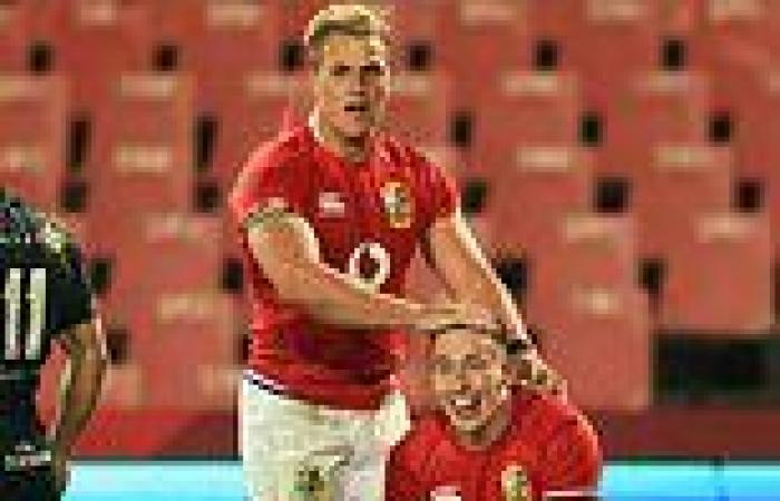 sport news Lions to face Sharks for second time in FOUR days as chaos in South Africa ...