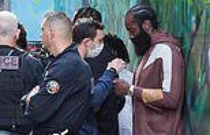 James Harden is stopped and frisked by police in Paris as rapper Lil Baby is ...