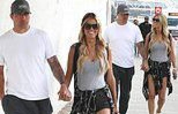 Christina Haack is seen for the first time with her new beau Joshua Hall