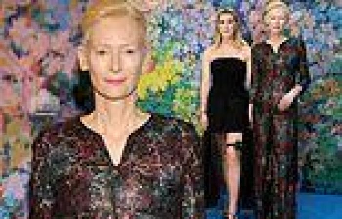 Tilda Swinton, 60, and her daughter Honor, 23, ooze elegance as they attend The ...
