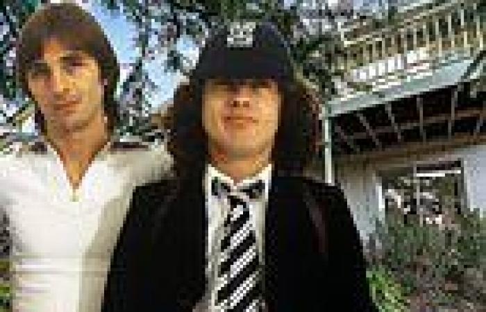 AC/DC drummer Phil Rudd puts hisluxurious mid-century Melbourne home on the ...