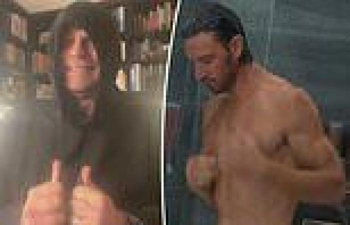 David Campbell has a hilarious reaction to THAT shower scene inSex/Life