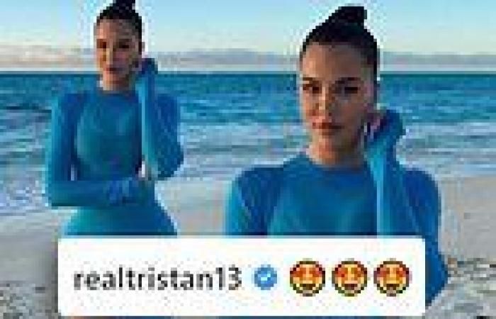 Tristan Thompson leaves flirty comment for Khloe Kardashian... one month after ...
