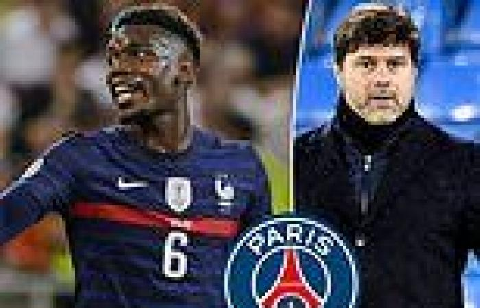 sport news PSG 'step up their chase for Paul Pogba and are not put off by £51m fee'