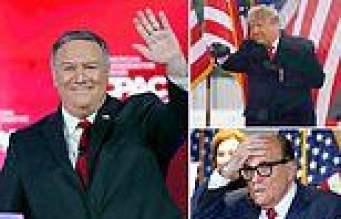 Pompeo told a colleague 'crazies have taken over when Trump started pushing ...