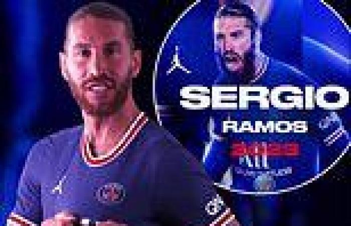 sport news Paris Saint-Germain confirm the signing of Sergio Ramos