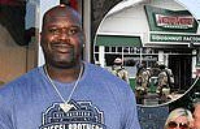 Shaquille O'Neal's Krispy Kreme doughnut shop catches fire for second time less ...