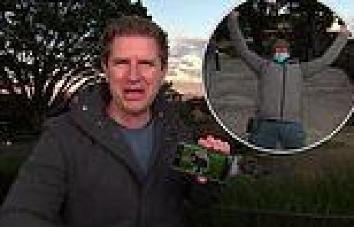 Sunrise's British camera operator interrupts Sam Mac's weather segment to ...