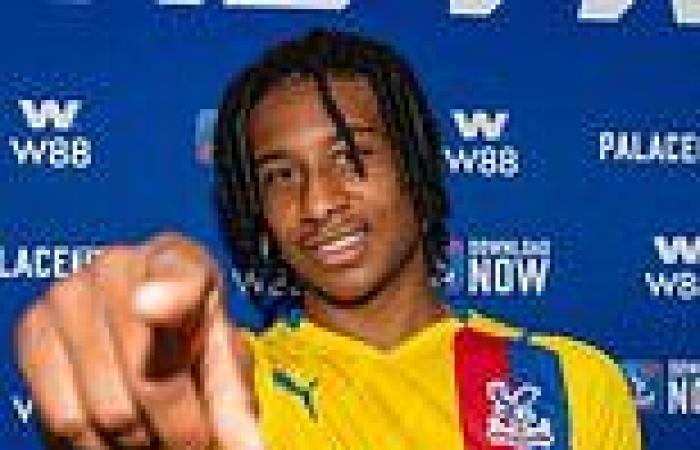 sport news Crystal Palace complete £8m signing of Reading star Michael Olise