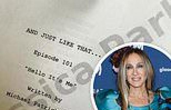 Sarah Jessica Parker reveals the title of the first Sex And The City revival ...