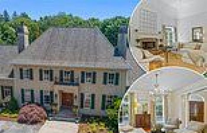Five-bedroom mansion next to Joe Biden's home in Delaware hits the market for ...