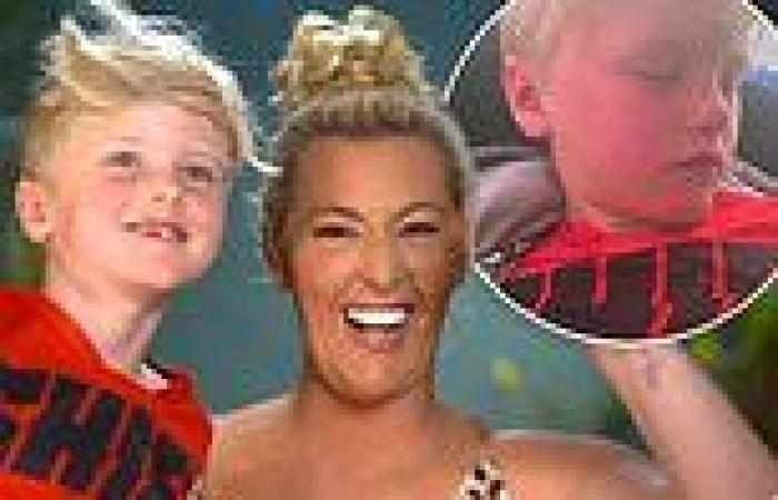 Jess Eva discovers her six-year-old son's VERY rude on-air gaffe