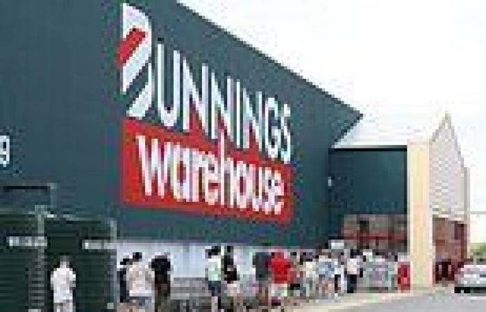 Hunt for Bunnings shopper who spat on another customer because he wasn't ...