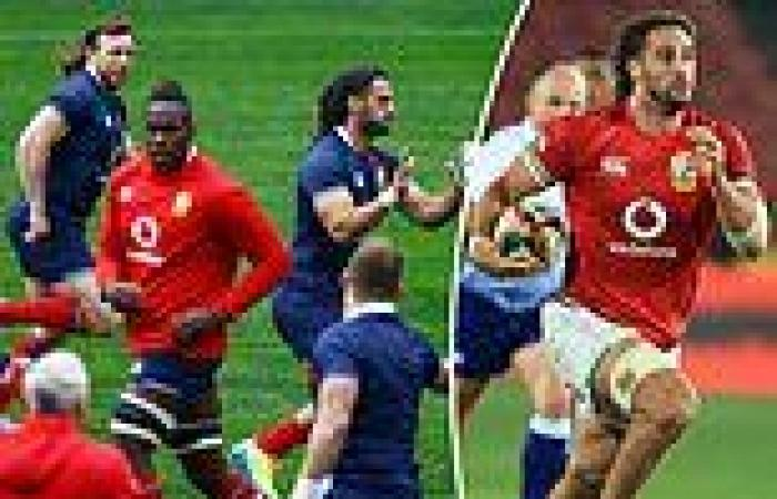 sport news British and Irish Lions given the green light to face the Sharks once again ...