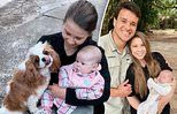 Bindi Irwin shares a sweet photo with her three-month-old baby Grace ...