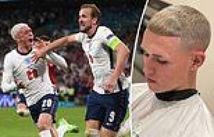 sport news Euro 2020: Phil Foden fears England team-mates will BREAK promise to dye hair ...