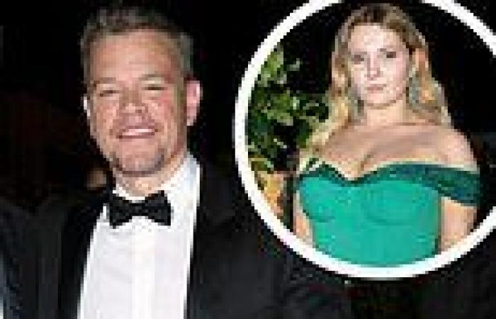 Matt Damon attends celebratory dinner after Stillwater premiere