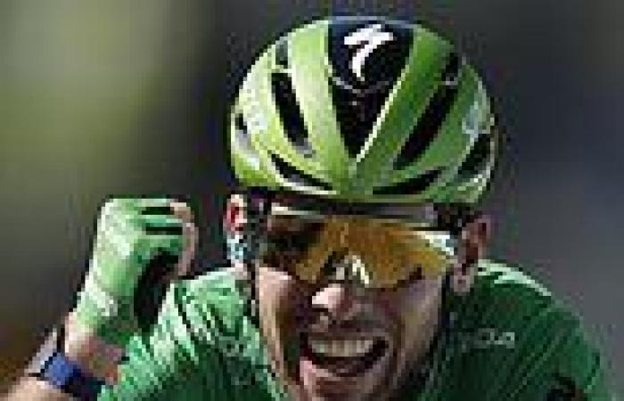 sport news Mark Cavendish equals Eddy Merckx's record of 34 Tour de France stage wins with ...