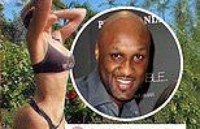 Khloe Kardashian's ex-husband Lamar Odom leaves a thirsty comment on her bikini ...