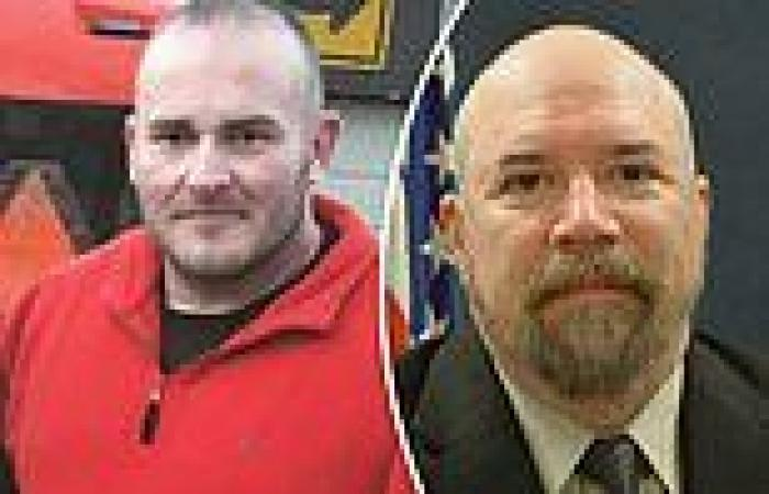 Suspect, 44, charged with murder after he 'shot dead Indiana cop and threw ...