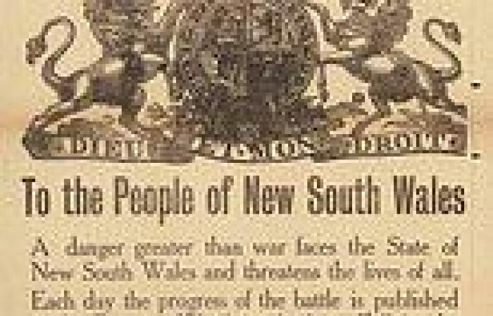 1919 Spanish Flu lockdown and current Sydney coronavirus lockdown bear striking ...