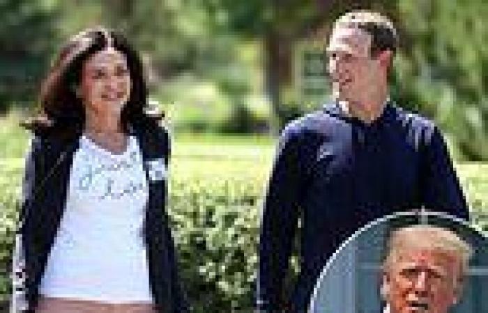 How Facebook's Mark Zuckerberg and Sheryl Sandberg fell out over Trump