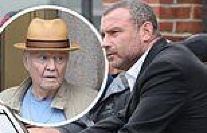 Liev Schreiber is a silver fox and Jon Voight brings back Midnight Cowboy vibes ...