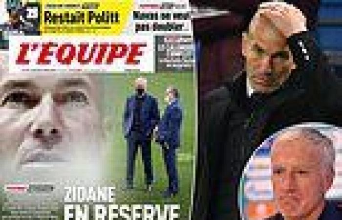 sport news Zinedine Zidane 'envisages nothing else than the France job' but Didier ...