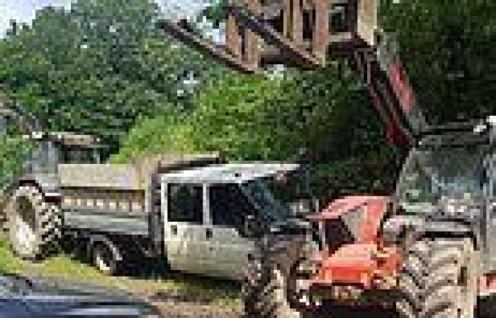 Fed-up farmer catches serial fly-tippers by blocking them in with a car, ...