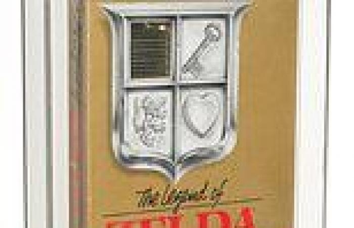 Unopened 1987 Nintendo Zelda game is up for auction for $100,000