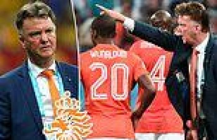 sport news Louis van Gaal 'is in talks with the Dutch FA about returning to coach Holland ...