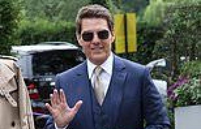 Tom Cruise, Katherine Jenkins and Lulu  lead the stars at Wimbledon day 12