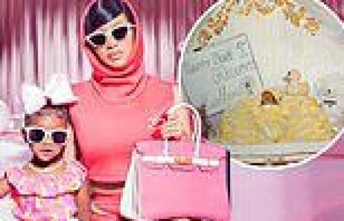 Cardi B celebrates her daughter Kulture's third birthday by sharing a ...
