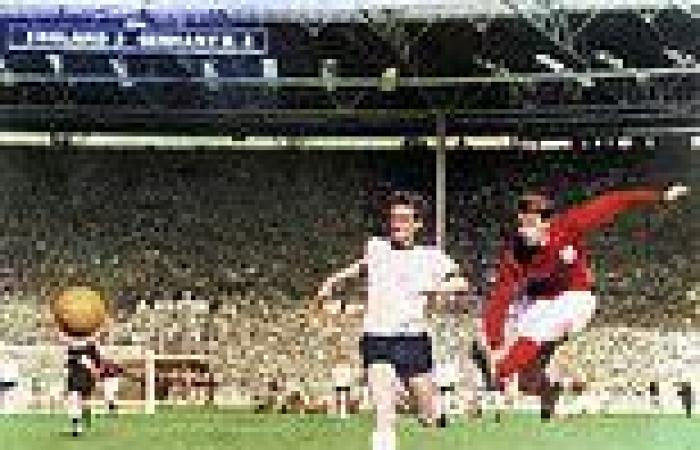 SIR GEOFF HURST - one of survivors of the '66 team - sends a message to inspire ...
