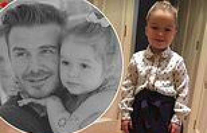 David and Victoria Beckham share sweet 10th birthday tributes to daughter ...
