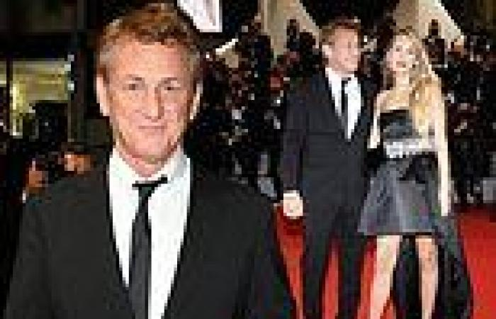 Sean Penn joins his glamorous daughter Dylan for the premiere of his film Flag ...
