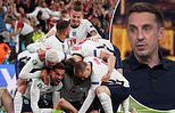 sport news Gary Neville claims England have been 'GERMAN-LIKE' in reaching the Euro 2020 ...