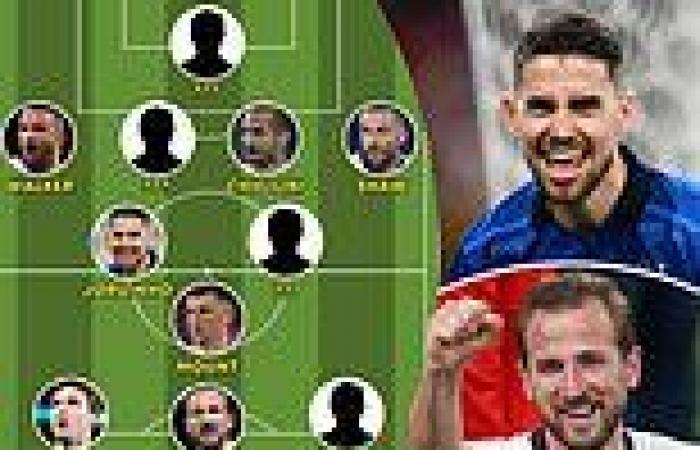 sport news Euro 2020 final: Harry Kane leads the line but who else makes England vs ...