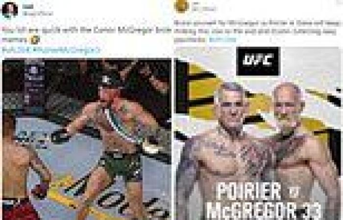 sport news Conor McGregor brutally mocked by Twitter trolls AGAIN after breaking his leg ...