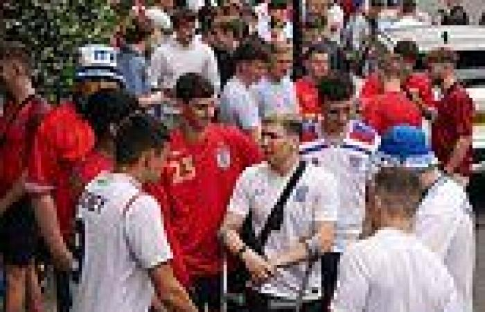 England v Italy: Fans gather outside pubs and bars ahead of tonight's Euro 2020 ...