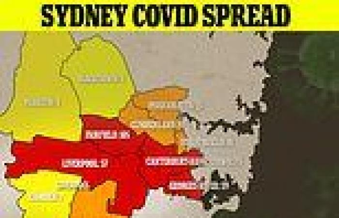 Coronavirus Australia: Covid cases explode in Sydney's south-west with cases ...