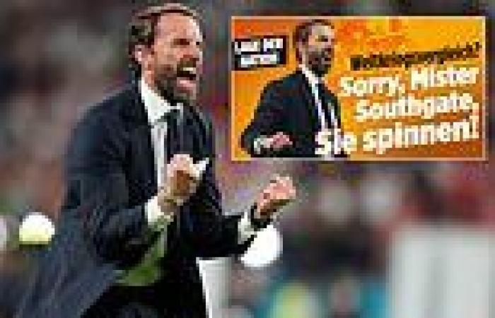 sport news Germany's biggest newspaper slam Southgate for suggesting World War II spirit ...