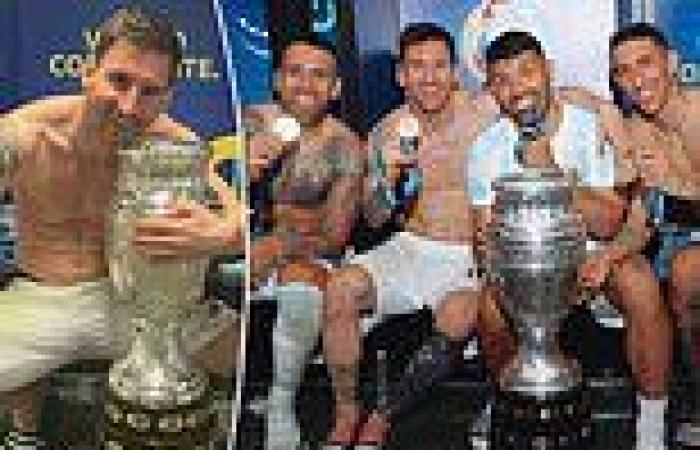 sport news Copa America: Emotional Lionel Messi says 'the happiness is indescribable' ...