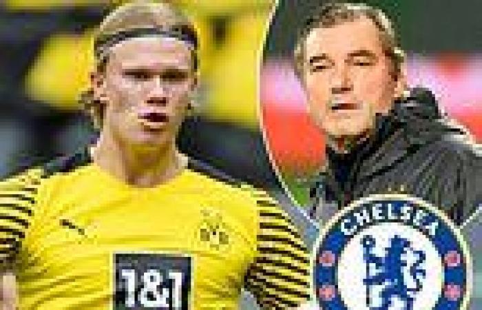 sport news Erling Haaland misses Borussia Dortmund's training as Michael Zorc jokes 'he's ...