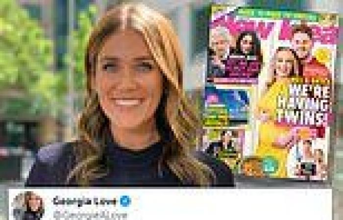 Georgia Love's vile tweet about Bryce Ruthven and Melissa Rawson's twins