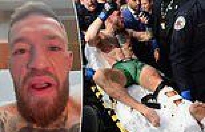 sport news Conor McGregor insists he feels 'tremendous' after undergoing surgery on broken ...