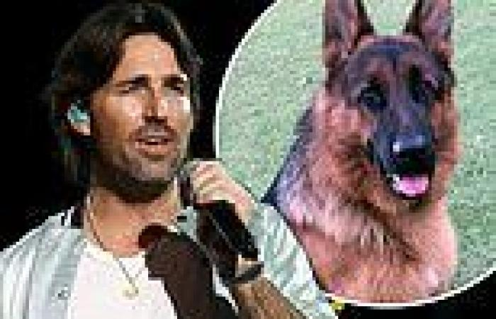 Jake Owen mourns the unexpected loss of his dog Slash who died after his ...