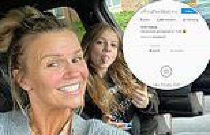 Kerry Katona's 14-year-old daughter Heidi has been banned from Instagram losing ...