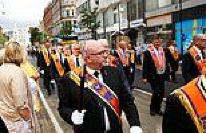 Hundreds of Orange Order July 12 parades take place in Northern Ireland