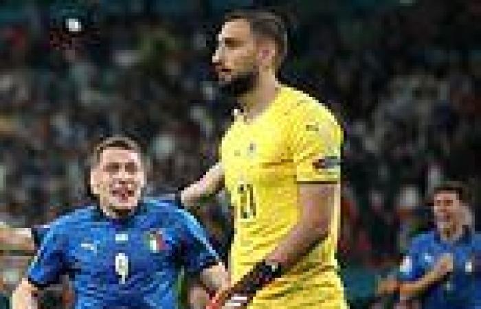 sport news Gianluigi Donnarumma reveals he didn't celebrate because 'I didn't realise we ...